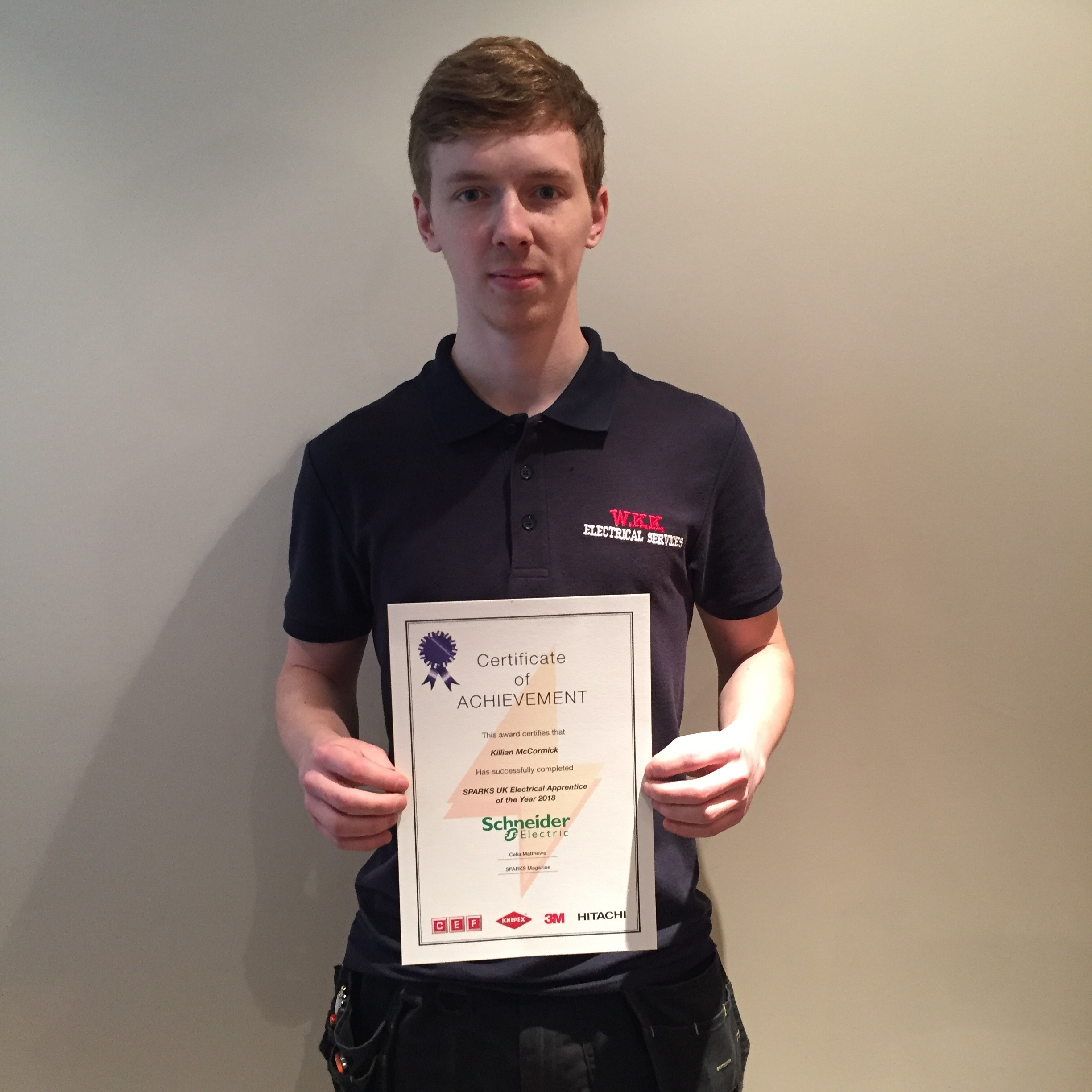 Electrical Apprentice of the Year 2018